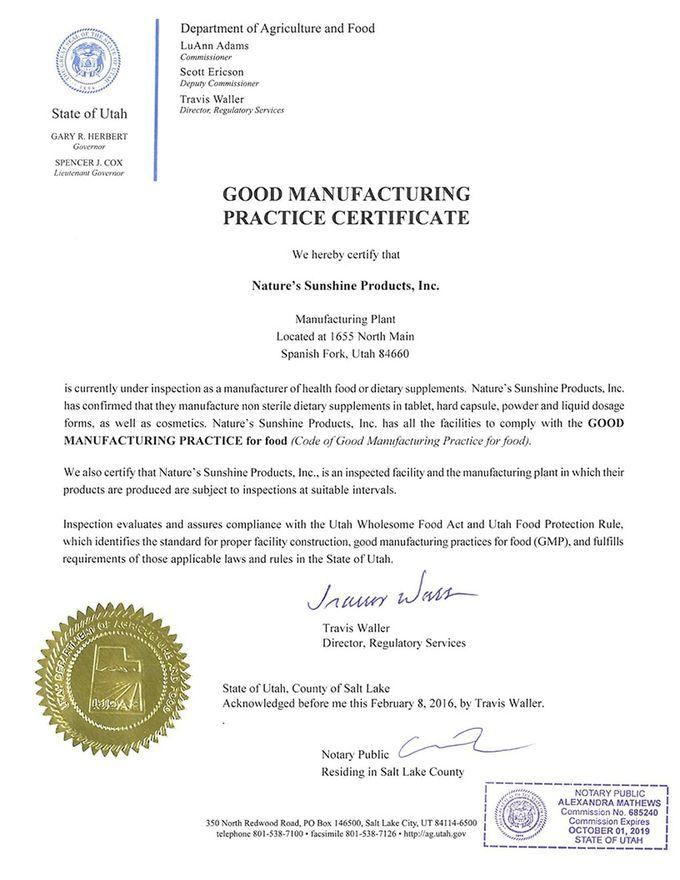 Золотой сертификат NSP